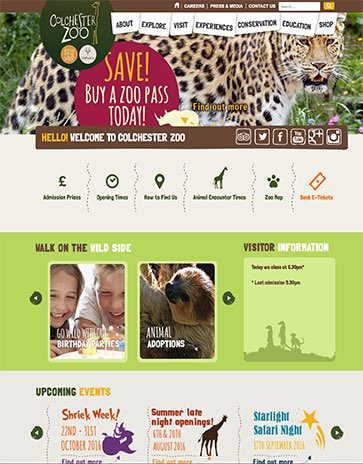Colchester Zoo Project Image