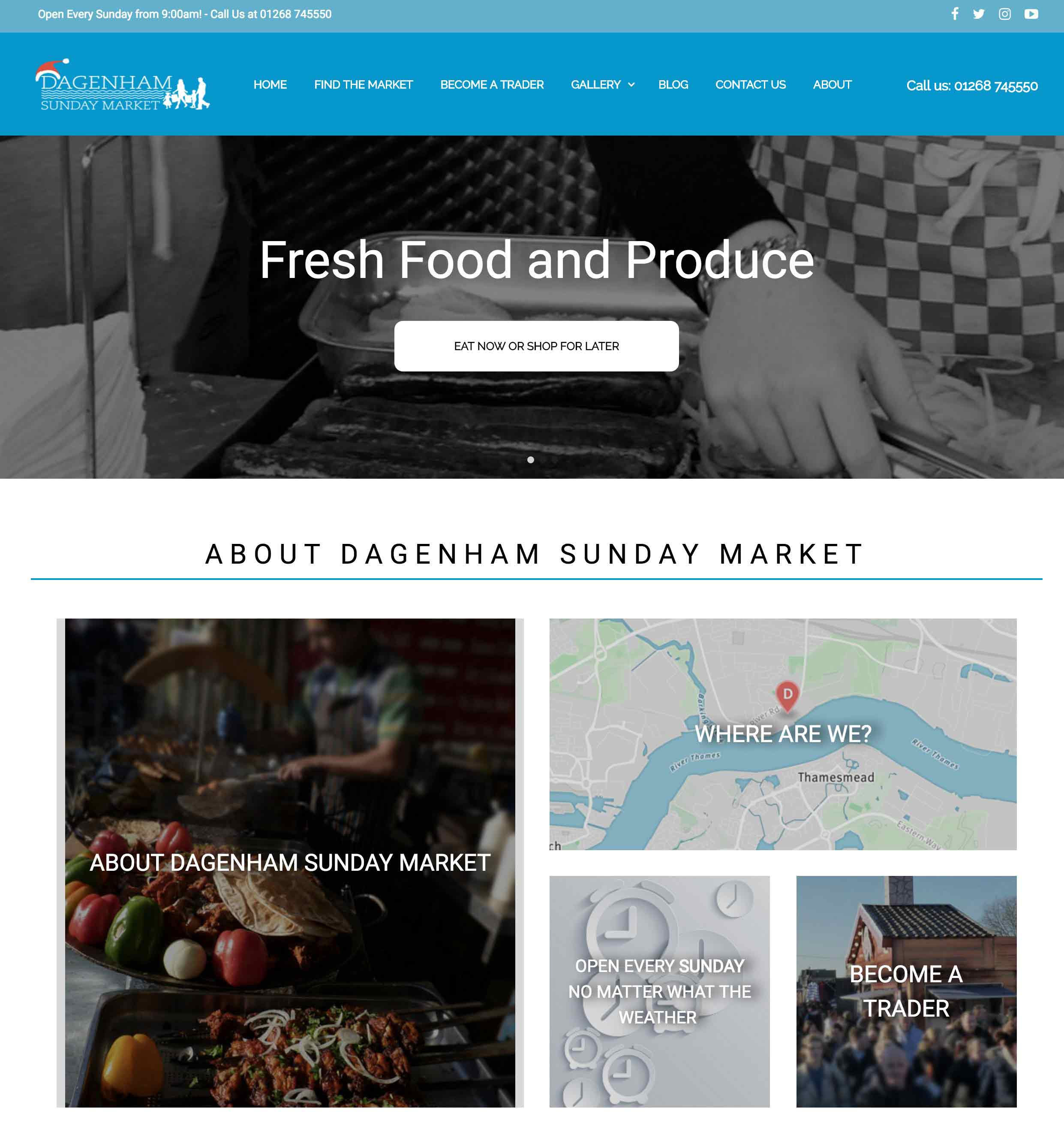 Dagenham Sunday Market Project Image